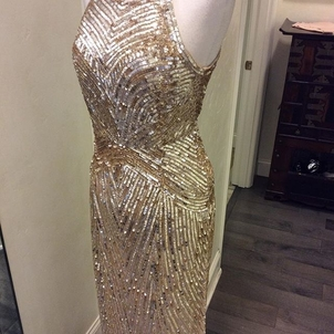 Aidan Mattox Golden Goddess Dresses