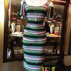 Nicole Miller Friday Stripes Dresses