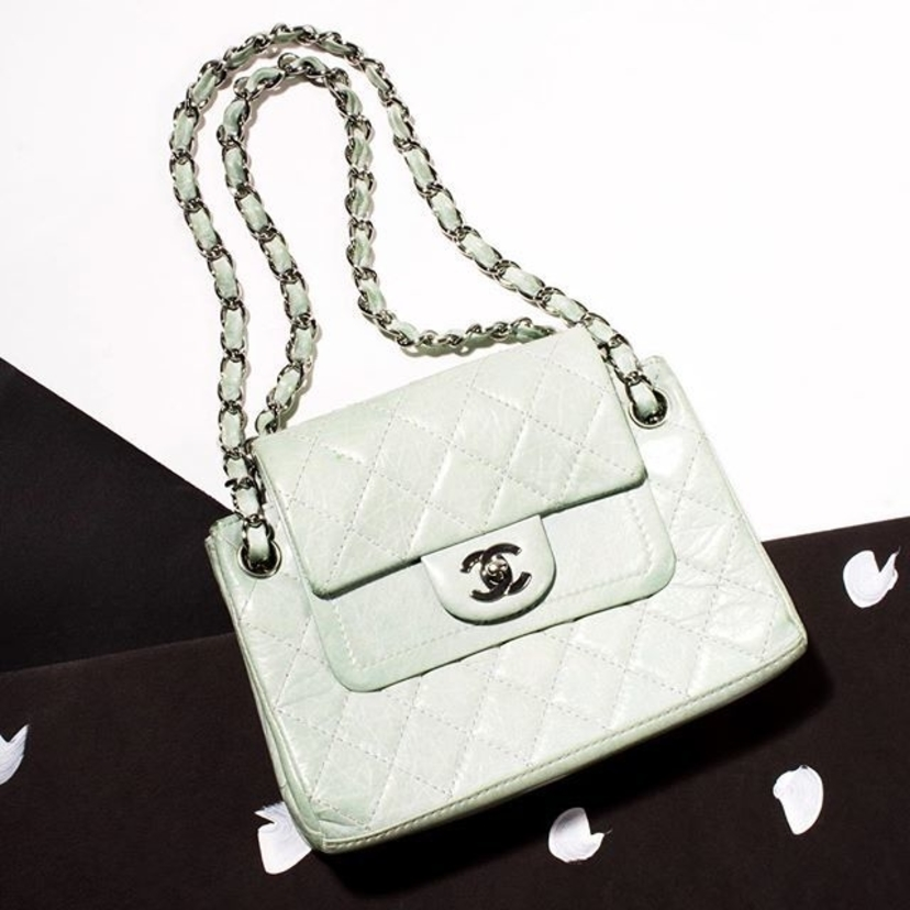 Chanel Mint Green Chanel Bags