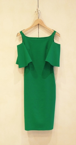 Chiara Boni Green Queen Dresses