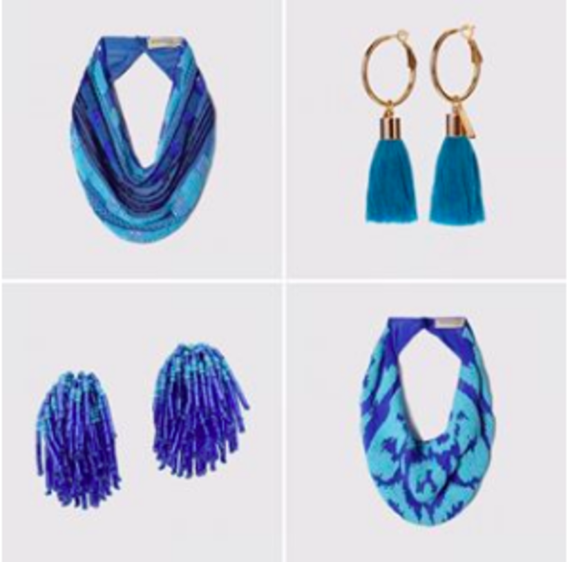 Mignonne Gavigan Hues of Blue Jewelry
