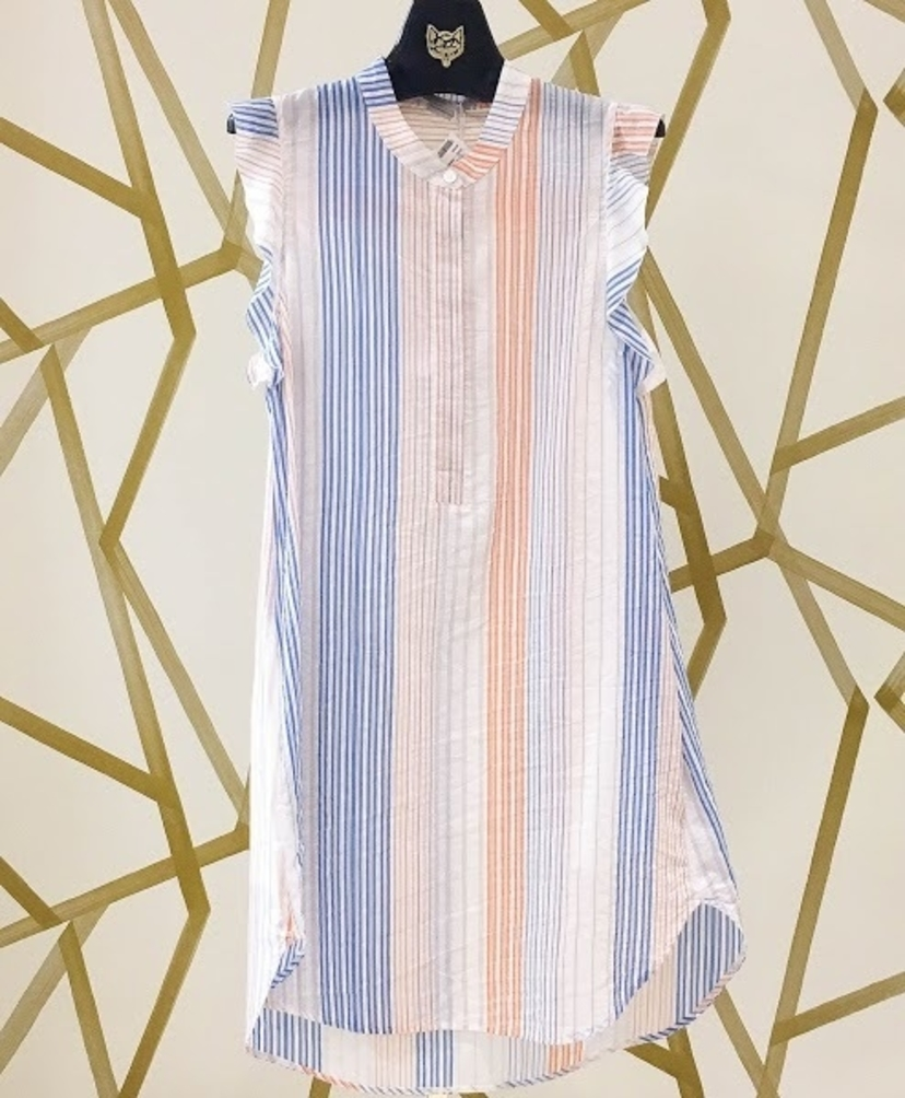 Stella McCartney Striped Cotton Dress Dresses
