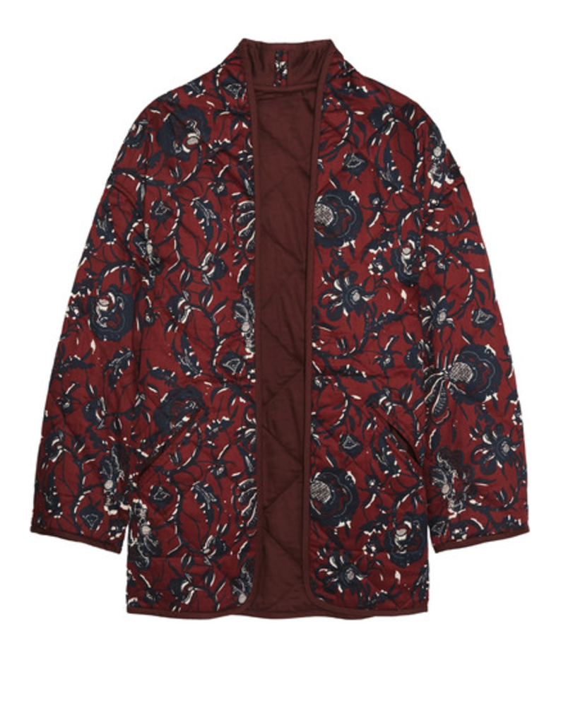 Isabel Marant Étoile Floral-Quilted Jacket Outerwear