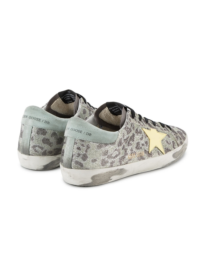Golden Goose Deluxe Brand Sparkle Leopard GG Shoes