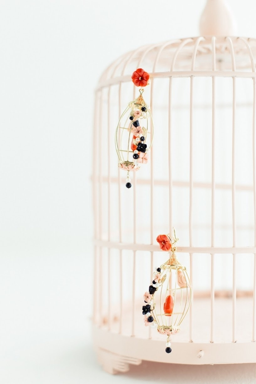 Caged Cardinal Jewelry