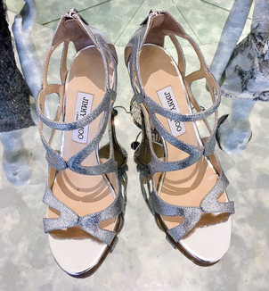 Jimmy Choo Leslie 100MM Strappy Sandal Sale Shoes