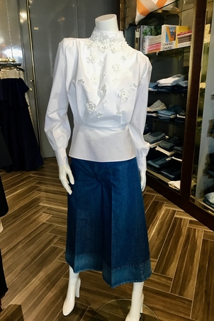 Co Co Cropped Trouser Tops