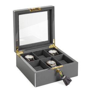 Jonathan Adler Lacquer Watch Box Home decor Jewelry