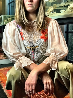 Temperley London Beauty and the Bees  Tops