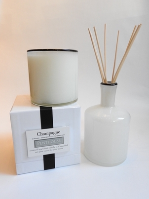 Lafco Champagne Penthouse Candle and Diffuser Home decor