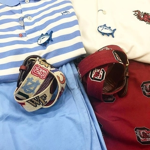 Southern Tide It's a battle for the Carolina's this weekend Accessories Tops