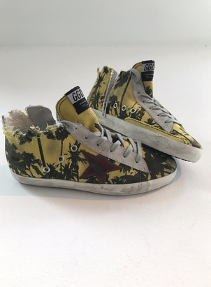 Golden Goose Deluxe Brand Stars and palm trees  Shoes