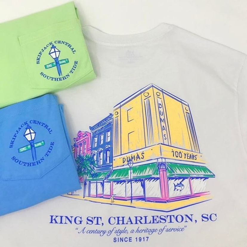 Southern Tide 100th Anniversary T-Shirts Tops