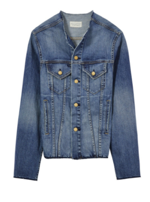 Nili Lotan Axel Jacket in Tribeca Wash Outerwear