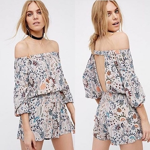 Free People Pretty & Free Romper Jumpsuits / Rompers