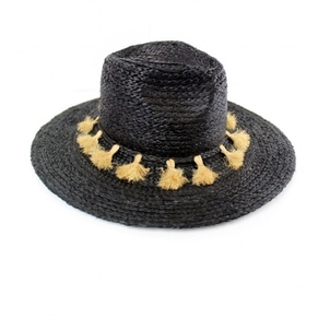 Michael Stars Metros Tassel Hat Accessories