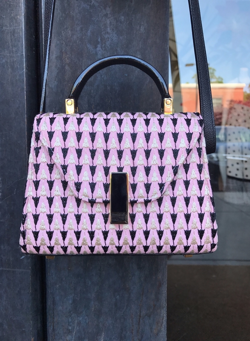 Valextra Rose colored micro Bags