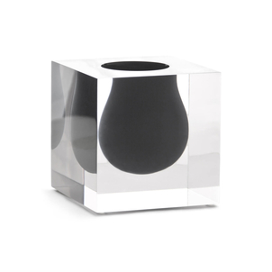 Jonathan Adler Bel Air Mini Scoop Vase in Smoke Home decor