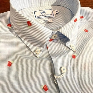 Southern Tide Party Shirt Tops