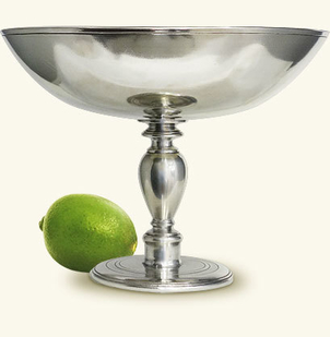 MATCH Pewter Venezia Pedestal Bowl Home decor