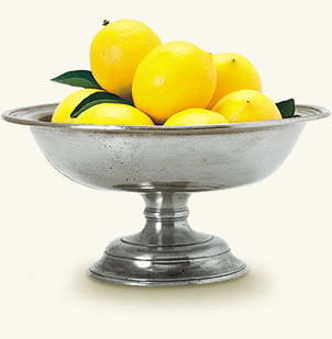 MATCH Pewter Fruit Compote Home decor