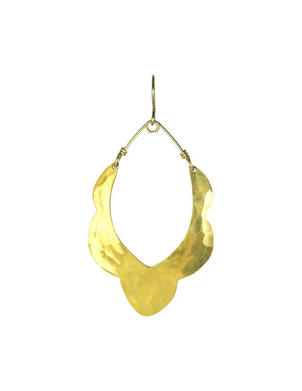 Robin Haley Moroccan 'Scalloped' Earring Jewelry