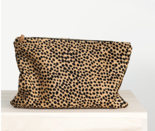 Ceri Hoover Cheetah Waller Clutch Bags
