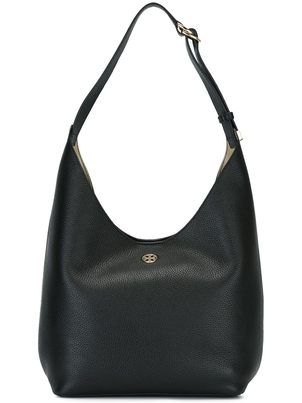 Tory Burch Perry Hobo Bag in Black/Beige Bags
