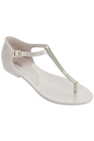 Melissa Honey Chrome Sandals in Beige Sale Shoes