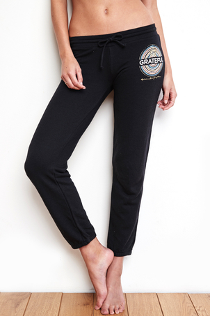 Spiritual Gangster Grateful Medallion Bliss Sweatpants Sale