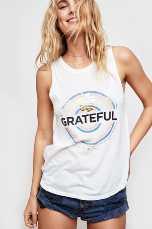 Spiritual Gangster Grateful Medallion Muscle Tank SOLD OUT Kids Sale