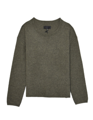 Nili Lotan Rylie Sweater in Army Green Tops