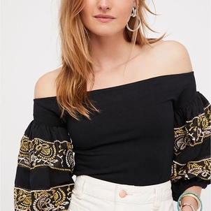 Free People Rock With It Top Tops
