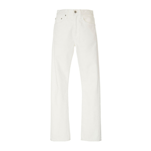 Brock Collection Wright Painter's White Jeans Pants
