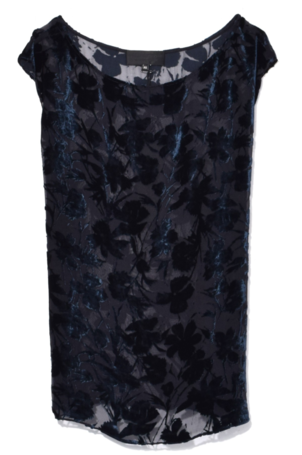 Nili Lotan Vera Tank in Dark Navy Tops