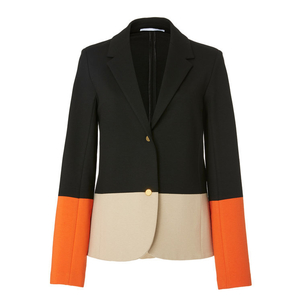 Rosetta Getty Fitted Color Block Jacket (Originally $1,090) Outerwear Sale