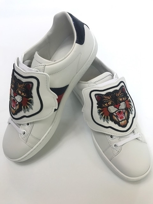 Gucci Angry Cat Sneaker Shoes