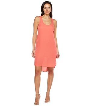 Heather Silk Scoop Tank Dress Dresses
