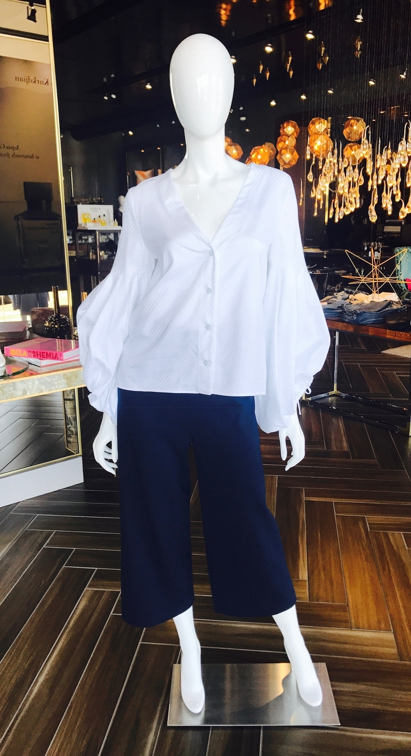 Alexis Rosetta Getty Kaia Top + Cropped Pants Tops