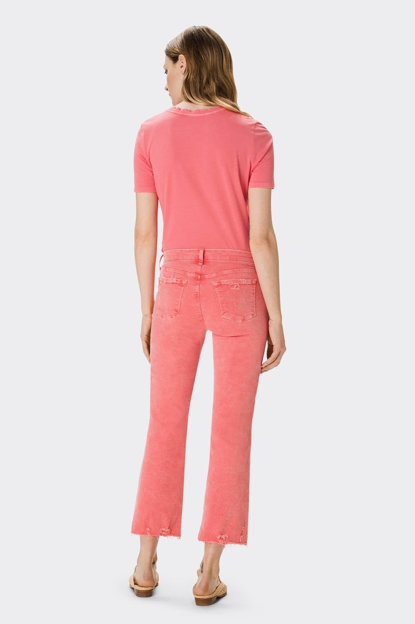 J Brand Glowing Selena Mid-Rise Crop Boot Jeans
