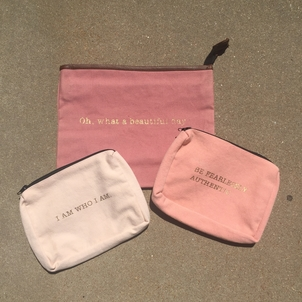 Pink Pouches Accessories Sale
