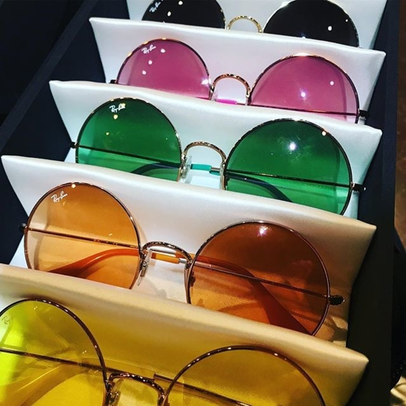 Ray Ban Round Metal Sunnies Accesories