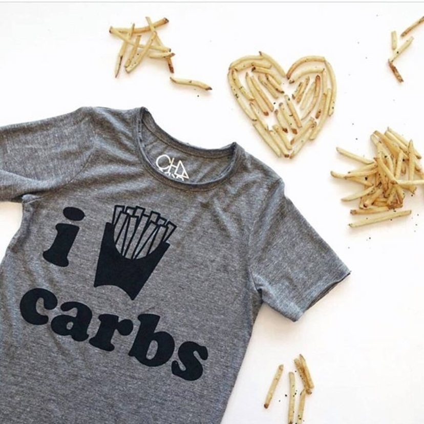 Chaser I Love Carbs Top