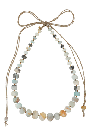 Chan Luu Multi Amazonite Mokuba Statement Necklace Jewelry