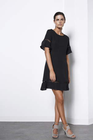 Shilla the Label Frill Detail Dress Dresses