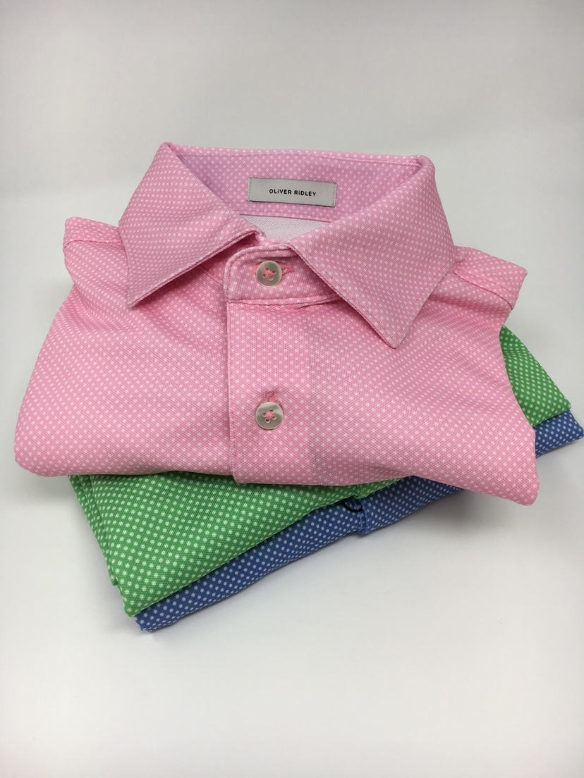 Dot Oxford Shirts