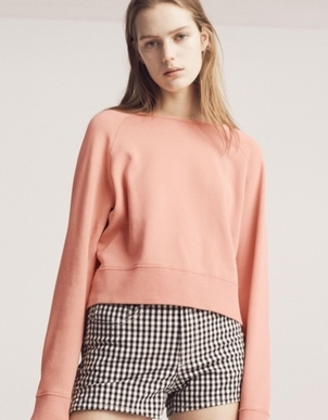 rag & bone Rag & Bone Classic Pullover in Sunset Tops