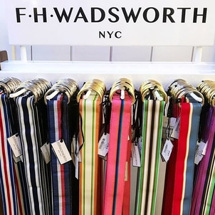 FH Wadsworth D-Ring Ribbon Belt Accessories