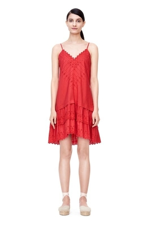 Rebecca Taylor La Vie Alice Eyelet Dress Dresses