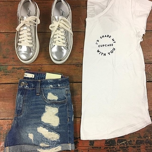 Free People good hYOUman Classic Outfit Shoes Shorts Tops